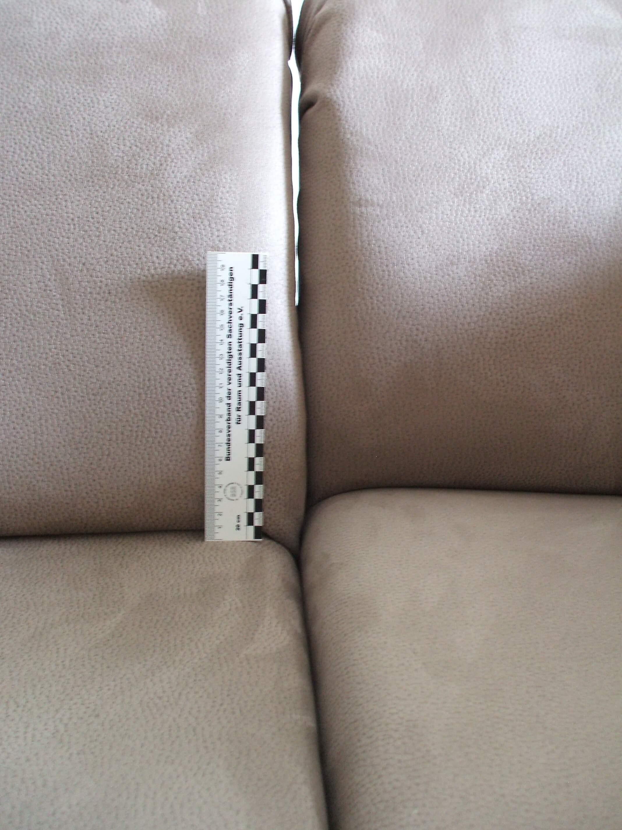 Passgenauigkeit bei Polstermöbeln